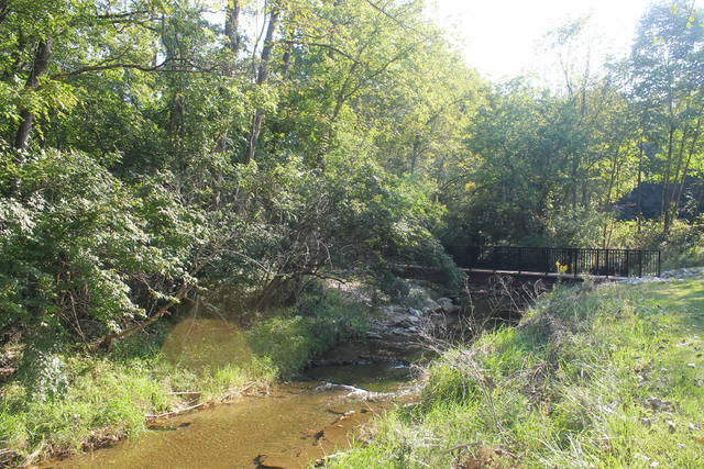 Anna Bolton | Greene County News Four new bridges at Sara Lee Arnovitz Nature Preserve in Xenia will provide access to the 43-acre park.