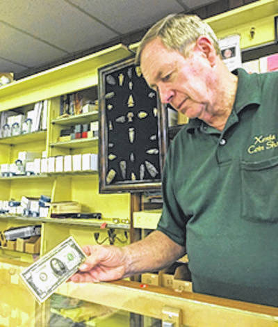 Submitted photo Xenia Coin Shop owner Col. Jim Huffman is retiring Sunday, Sept. 30. The store will remain open.
