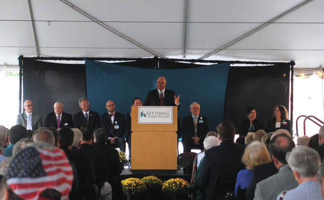 Community member and philanthropist Raj Soin during the groundbreaking ceremony.