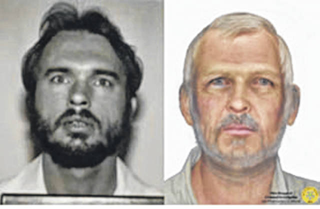 Photo courtesy of the Ohio AG A forensic artist with BCI created the age-progression image of Gordon Lambert, now be 63 years old in an effort to generate new leads on his whereabouts.