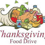 Local pantry collectint for Thanksgiving dinners