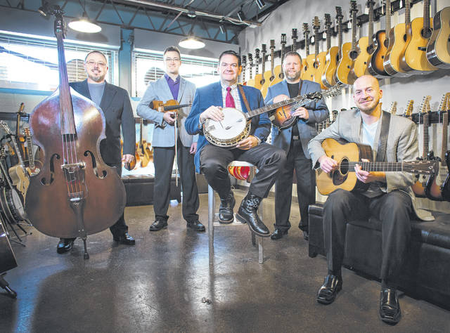 Submitted photo Joe Mullins & The Radio Ramblers host the indoor bluegrass festival.