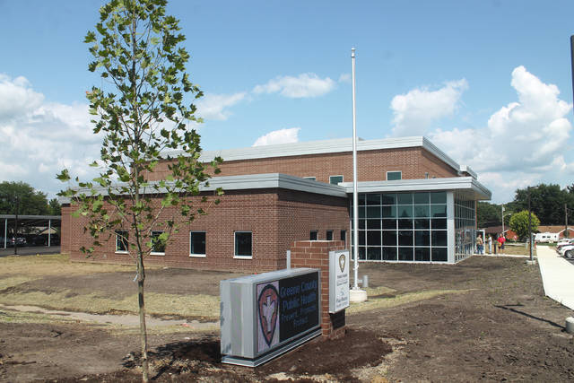 File photo Greene County Public Health's new 28,500-square-foot facility at 360 Wilson Drive in Xenia opened Aug. 20.