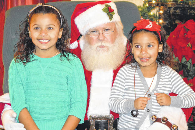 Photos courtesy of GCP&T Children can visit Mr. Claus at GCP&T's Santa's Holiday in the Park, Wednesday, Dec. 5 through Saturday, Dec. 8 at James Ranch Park.