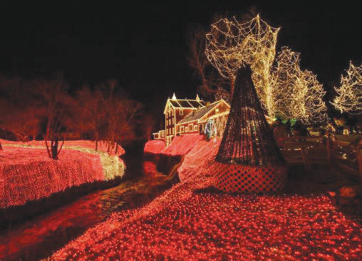 "File photo The Legendary Lights of Clifton Mill will present ""Heroes Night"" 5-9 p.m. Tuesday, Dec. 18 in which first responders, police, firefighters and military members will receive $2 off $10 admission with ID."