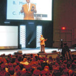 Pastor urges students to be 'difference makers'