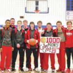 Cedarville's Colby Cross joins 1,000-point Club