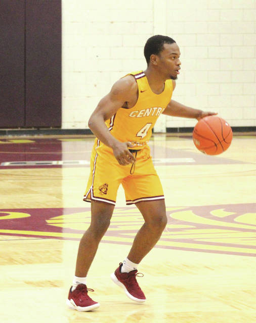 Central State University's Tom Johnson scored 16 points, grabbed seven rebounds, had five assists and three steals in the Marauders road win Jan. 3 in Columbia, S.C.