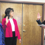 Board of elections women sworn in for new terms