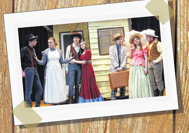 """Submitted photo Carroll Freedom Players will present Rodgers and Hammerstein's """"Oklahoma."""""""