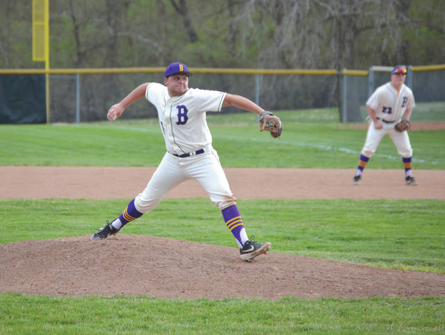 Unofficially, Bellbrook starting pitcher Jayden Elliott limited Franklin to three hits over seven innings of work. Officially, Elliott was dominant on the mound in Bellbrook's 4-0 win April 10 at Bellbrook High School.