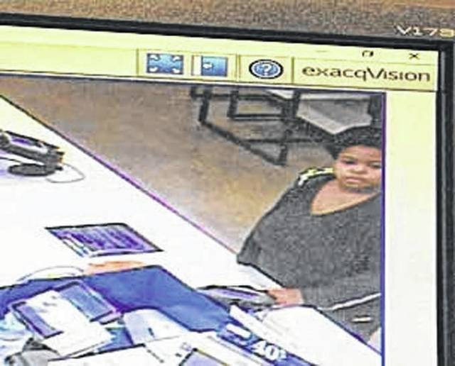 Photo courtesy Xenia Police Division Xenia police are looking for this woman who allegedly stole a purse and used a credit card.