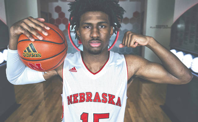 Xenia's Samari Curtis signed to play college basketball at the University of Nebraska, on Wednesday night May 15. Curtis had previously committed to play at the University of Cincinnati, but decommitted when then-coach Nick Cronin left to coach at UCLA.