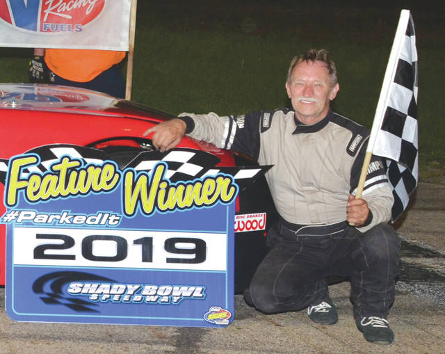 Scott Drake, of Xenia, won the Late Model division feature on May 18 at Shady Bowl Speedway in DeGraff.