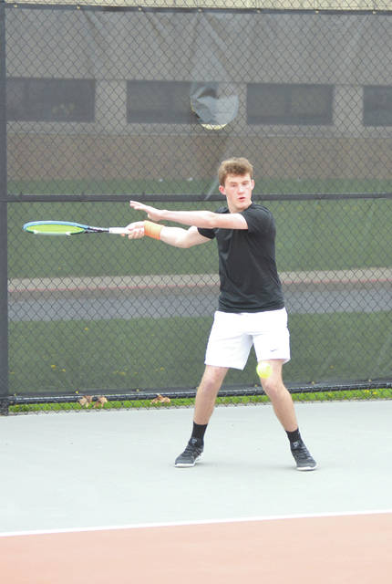 Austin Staiger of Beavercreek is the No. 2 seed in the upcoming Division I sectional singles tournament, which will be held May 10 in Centerville.
