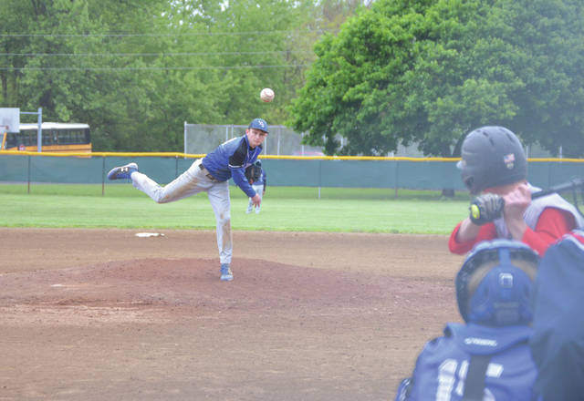 Dylan Rainey pitched well in his final game for the Bulldogs in a 10-0 run-ruled loss to Southeastern, May 13, in a Division IV sectional baseball tournament game in South Charleston.