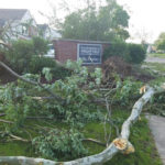 WPAFB housing sustains storm damage