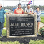 Jamestown tennis courts named to honor former coach