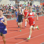 Indians trio strong at state meet