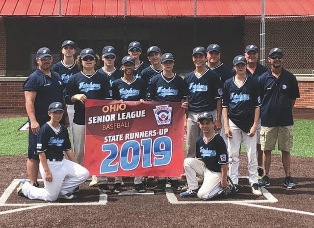 The Fairborn Senior League team finished as state runners up at the Ohio Little League youth baseball championship tournament July 6-11 at Rock Hill Little League in Ironton.