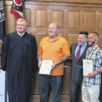 Veterans' Court holds first graduation