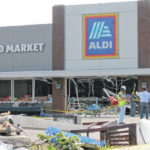 Post-tornado, Beavercreek ALDI open again