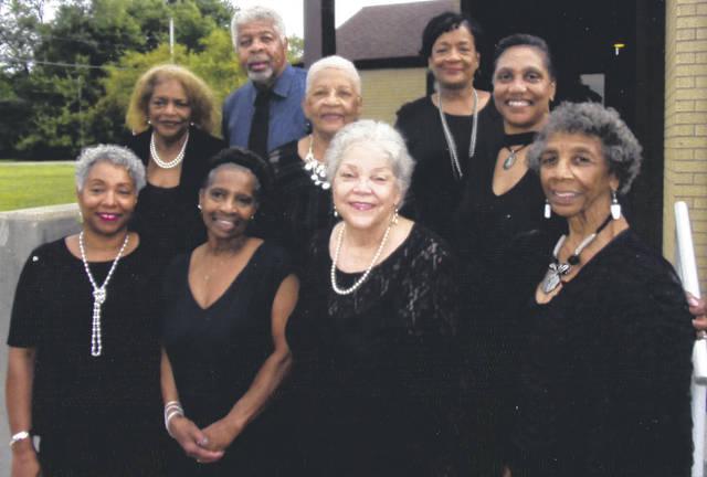 """Submitted photo United Christian Church will hold an afternoon of praise and worship featuring Minister Richard Buford and the """"To God Be The Glory Voices"""" at 4 p.m. Sunday, Aug. 25. Choir members are (first row) Robin Harden, Sharon Thompson, Harvenia Washington, and Phyllis Bryant. Second row Joan Moore, Charlene Smith, and Kathleen McCormick. Third row Buford, and Rhonda Brown. Guest musicians include the Rev. Terrance Bonner, Michael Porter, Charles Tarver, Kent Saunders, and Antonio Williams. The church is at 626 N. Columbus Street, Xenia."""