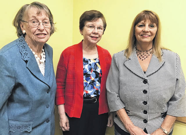 Submitted photos The Greene County Women's Hall of Fame will induct Laura Bader of Beavercreek Township, Frances O'Shaughnessy of Beavercreek, and Judy Baker of Xenia.