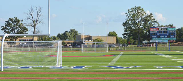 As part of $2.1 Million in improvements, Carroll High School has a new artificial turf athletic field and a new track facility to debut for the 2019 fall sports season.