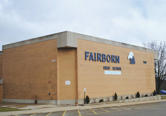 File photo Fairborn High School is located at 900 E. Dayton-Yellow Springs Road.