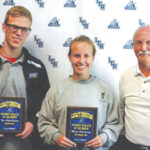 Ackenhausens named Athletes of the Month