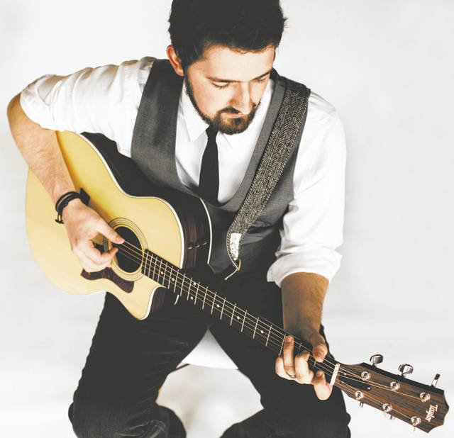 Submitted photo Singer- songwriter Matt Fawcett, a native of Cedarville, will perform Saturday, Sept. 21 at the Cedarville Opera House.