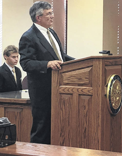 File photo Xenia city council member Will Urschel pleads his case to the board of elections last week.