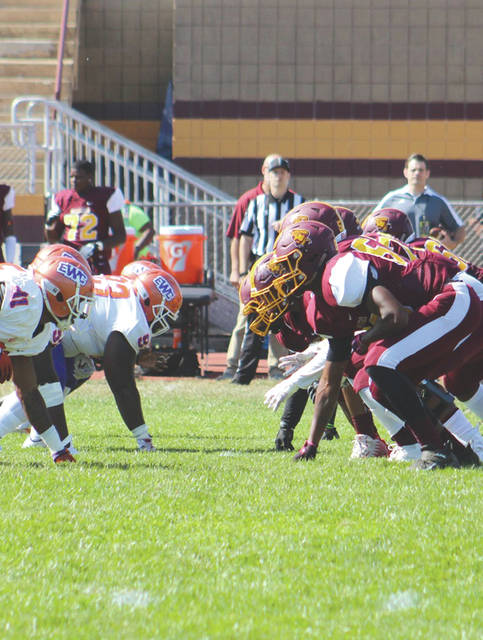 Central State University claimed its second win overall, and first Southern Intercollegiate Athletic Conference win, Saturday in a 28-21 college football victory over Edward Waters (Fla.) College.