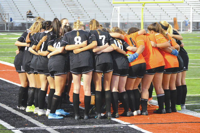 The defending Division I state champion and still undefeated Beavercreek girls varsity soccer team is a top seed in the D-I sectional tournament.