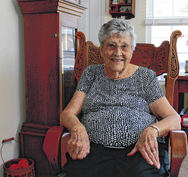 Anna Bolton | Greene County News Iola Creamer, a lifetime resident of Greene County, turns 100 on Monday, Oct. 14.