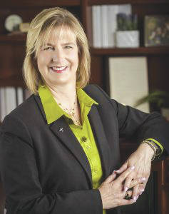 Submitted photo Wright State University President Cheryl Shrader will retire Dec. 31.