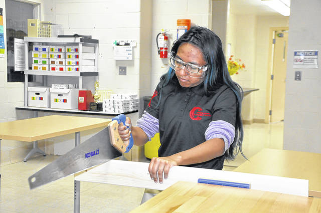 Students in the Greene County Career Center Career X program explore various career options while learning dependability, professionalism, interviewing skills and more.