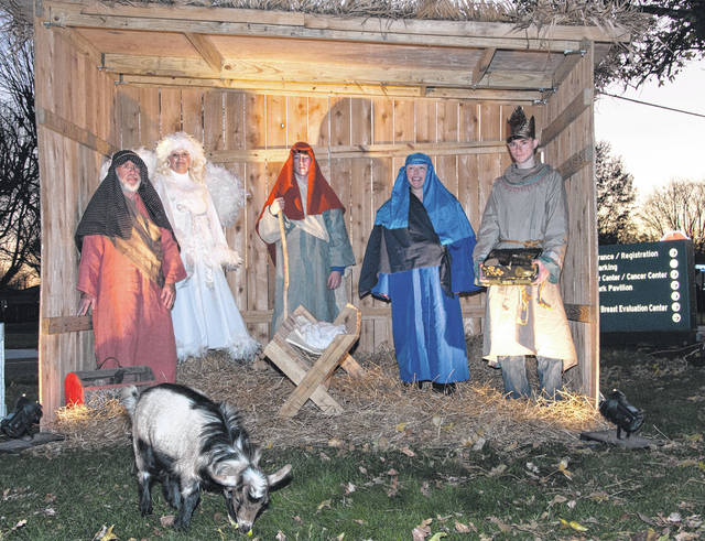 File photo Each tree lighting ceremony will feature a live nativity and music from carolers.