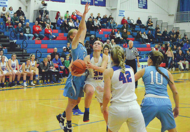 Greeneview senior Sylvie Sonneman (30) was named the Division III Preseason Player of the Year, by The Dabbelt Report earlier this week.