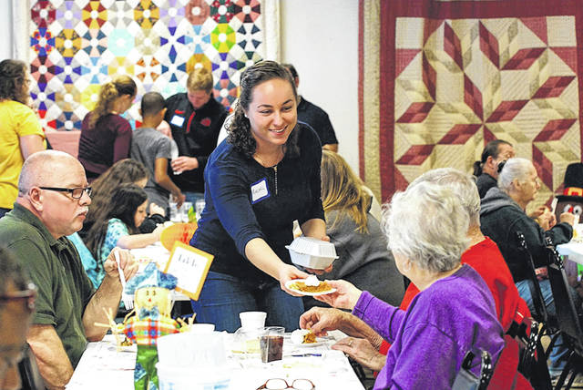 File photo The city's annual Thanksgiving dinner, always a well-attended event, will take place for the first time at the new senior center inside the REACH Center on Progress Drive.
