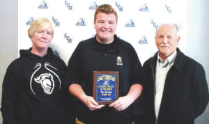 Sweeney named Legacy Christian Athlete of the Month