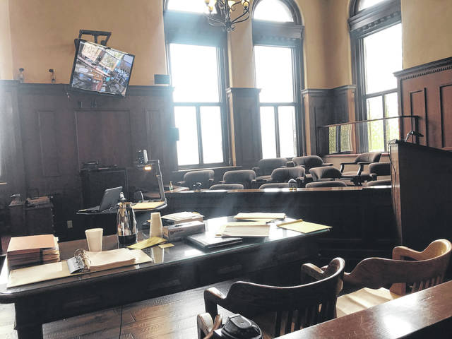 Greene County residents served as jurors in 2019 in judges Michael A. Buckwalter's courtroom (pictured) and Stephen A. Wolaver's courtroom, returning verdicts in various criminal trials.
