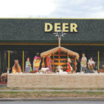 Nativity scene on display