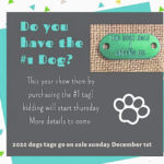Dog owners can bid for #1 tag