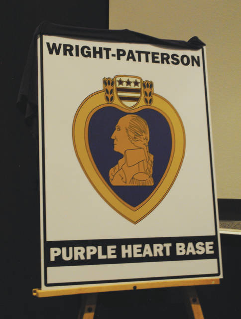 Signage will be displayed at Wright-Patterson Air Force Base, as well as the National Museum of the United States Air Force. The signage was revealed during the Dec. 10 ceremony.