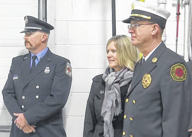 Photo courtesy WDTN Chief David Young retired from the Beavercreek Township Fire Department Jan. 3