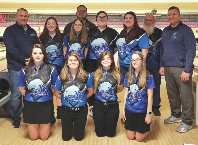 The Fairborn High School girls varsity bowling team placed fifth at Wednesday's Division I district championships to advance to the 2020 OHSAA State Bowling Championships, which will be held March 7 in Columbus.