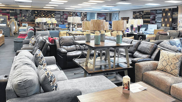 Photos by Scott Halasz | Greene County News Ramsey's Furniture on West Second Street opened in November and has been happy with the local support its received.