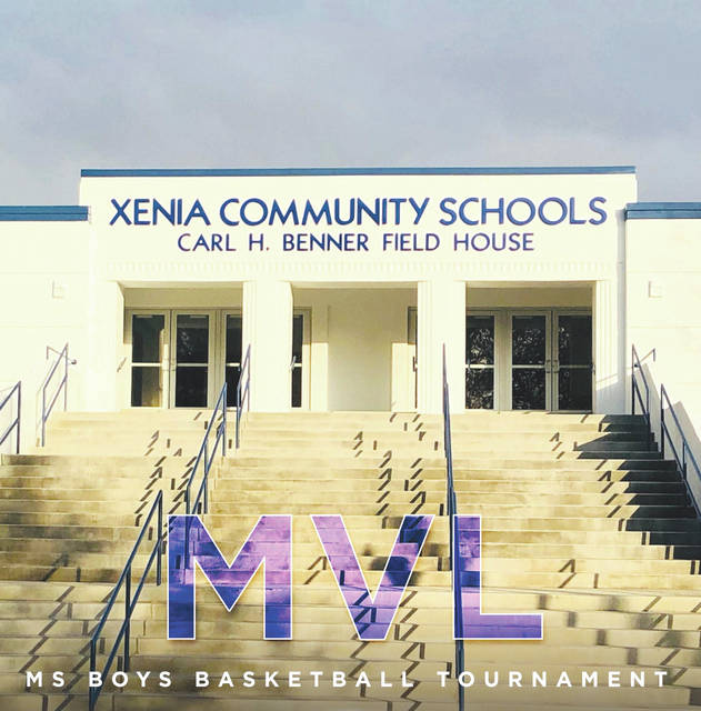 Benner Field House (shown) and the Xenia High School gymnasium will play host to the Miami Valley League middle school boys basketball tournaments, with games beginning Saturday, Feb. 8, in Xenia.